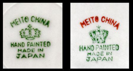 Backstamps noritake china Guide to